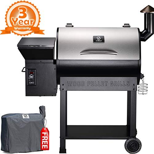 Z Grills 2018 New Model ZPG 7002E Wood Pellet Smoker, 8 i