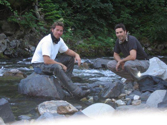 A cool creek somewhere north of Kaslo, BC