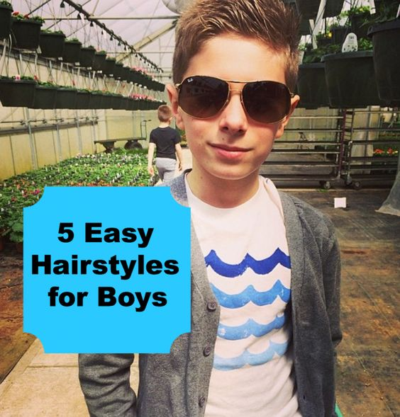 Admirable Hairstyles For Boys Easy Hairstyles And Hairstyles On Pinterest Short Hairstyles Gunalazisus