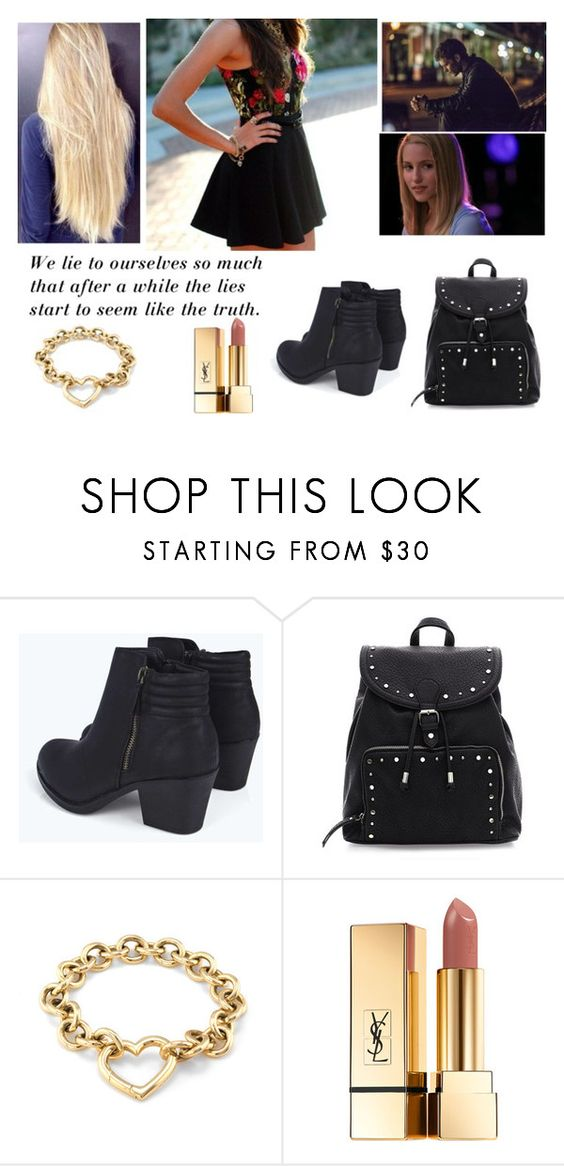 """""""Chapter 58"""" by tvdlover13 ❤ liked on Polyvore featuring Boohoo, Tiffany & Co., Grey's Anatomy and Yves Saint Laurent"""
