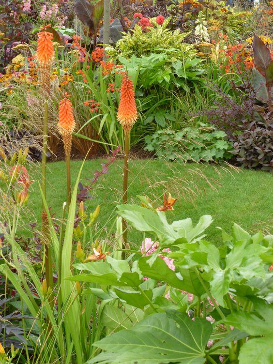 Tatton Park, Chocolate Orange Garden