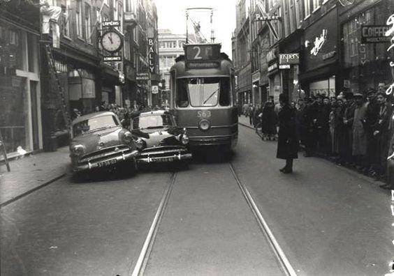 Amsterdam Leidsestraat 1952 by Ed van der Elsken