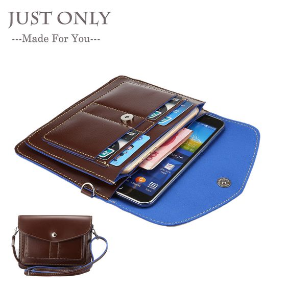 Find More Phone Bags & Cases Information about Universal Leather Bag Small Shoulder Crossbody Pouch for…
