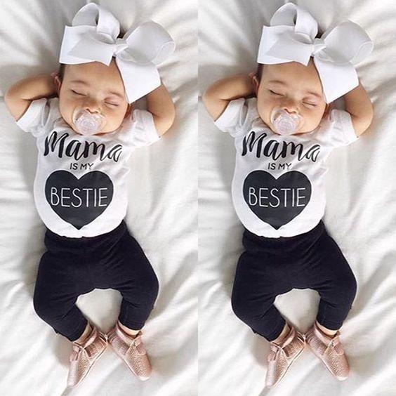 Toddler Newborn Infant Baby Girl Romper Jumpsuit Bodysuit Outfit Sunsuit Clothes