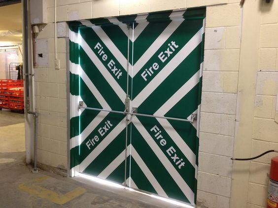 fire exit doors, fire exit door