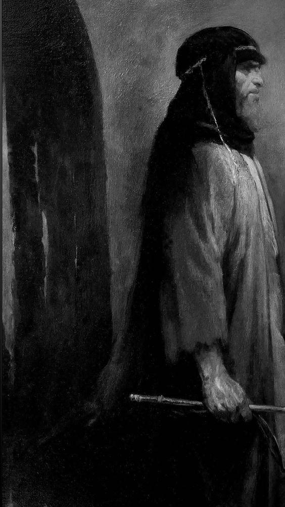 لوحة الرسام الإیرانی حسن روح الأمین للإمام علی السجاد بن الحسین بن علی بن أبی طالب رضی الله عنهما.