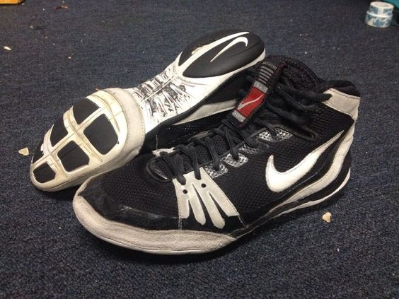 Nike Freek RARE Wrestling Shoes Freeks Inflict OG Takedown Rulon ...