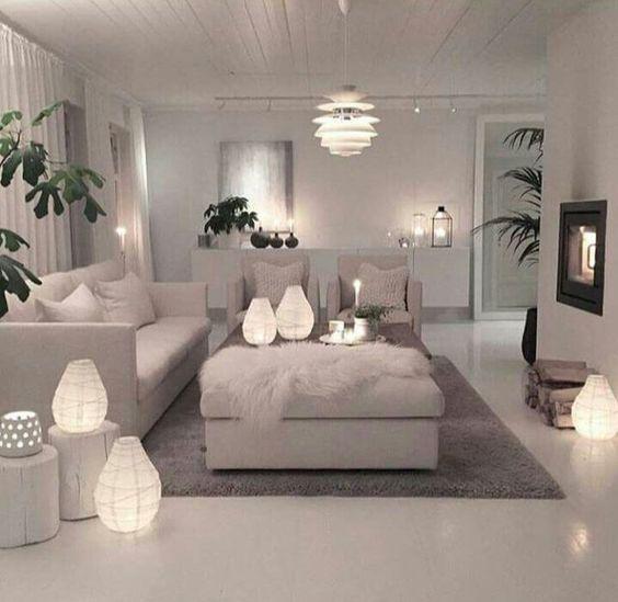 Come illuminare il soggiorno. - Questioni di Arredamento
