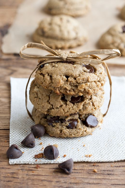 Gluten Free Peanut Butter & Chocolate Chip Cookies