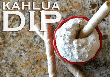 Easy, to die for Kahlua dip. 3 ingredients! Perfect for dessert, potluck, parties, etc. I'm in love!!