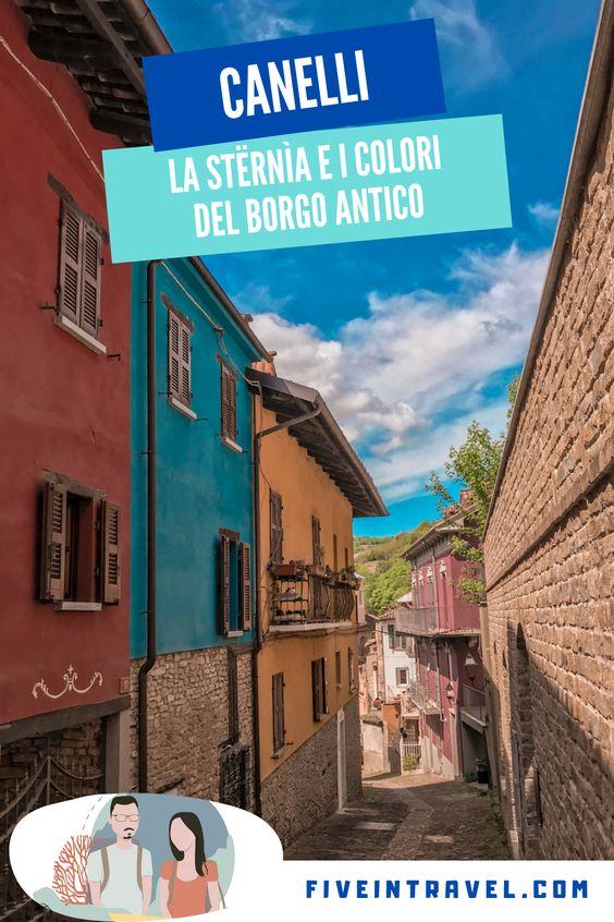 Cosa vedere a Canelli | La Stërnìa e i colori del borgo antico