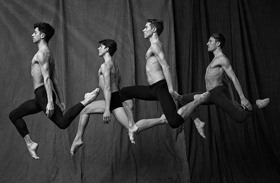 Matthew Brookes' new book spotlights the male ballet dancers of Paris: