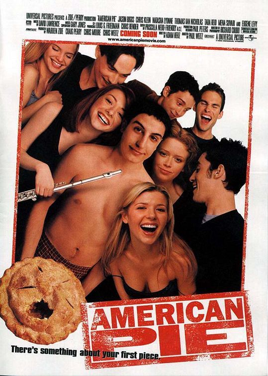 Literally the bible to 90's kids in high school and optimistic hopefuls who could only dream that their high school years would be as epic as this. The movie is surely a classic and is about high schoolers trying to get laid and trying to figure themselves out .  http://www.imdb.com/title/tt0163651/