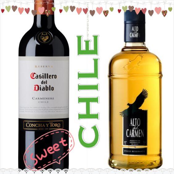 Chilean wine. Chilean Pisco