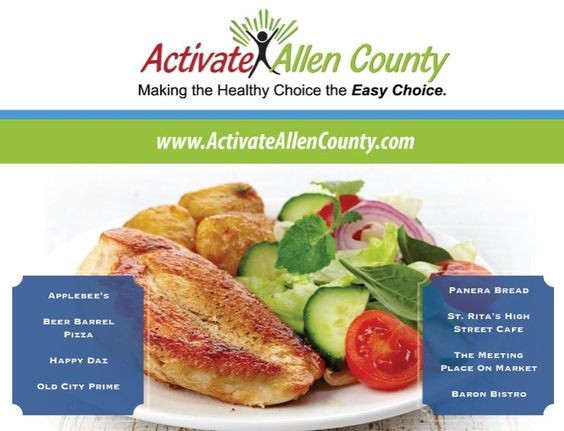 Http Activateallencounty Com Wp Content Uploads 2016 03 Menu Activate Web 2016 Pdf Healthy Choices Healthy Healthy Eating