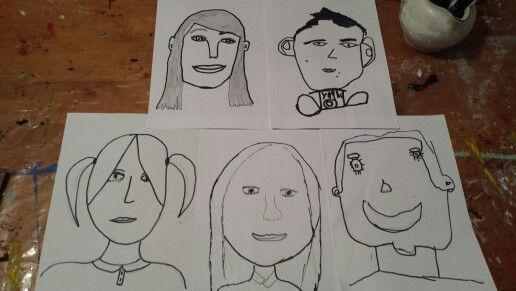 Self portraits!