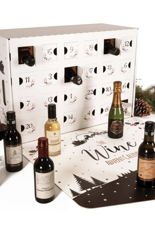 Raise A Glass This New Wine Lovers Advent Calendar Has A Mini