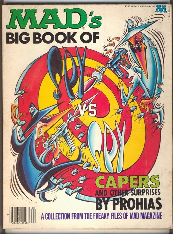 mad's big book of spy vs spy capers and other surprises by prohias 1982 from $12.0