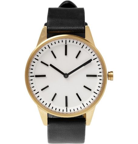 Uniform Wares  250 Series Steel Wristwatch