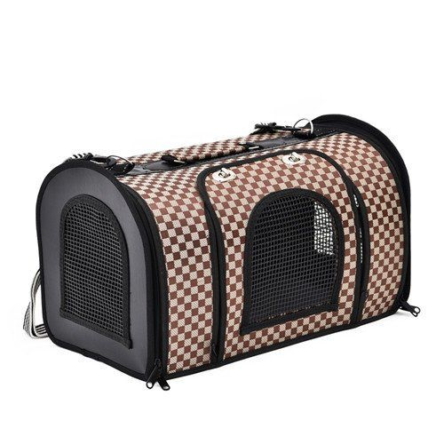 Cat Carrier - Cool Design Travel Bag Carrier For Cats - Cove Cotton