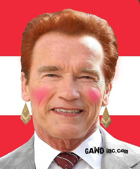 "Arnold is the original, ""Girlie Man"".  http://www.gawdinc.com/arnold/"