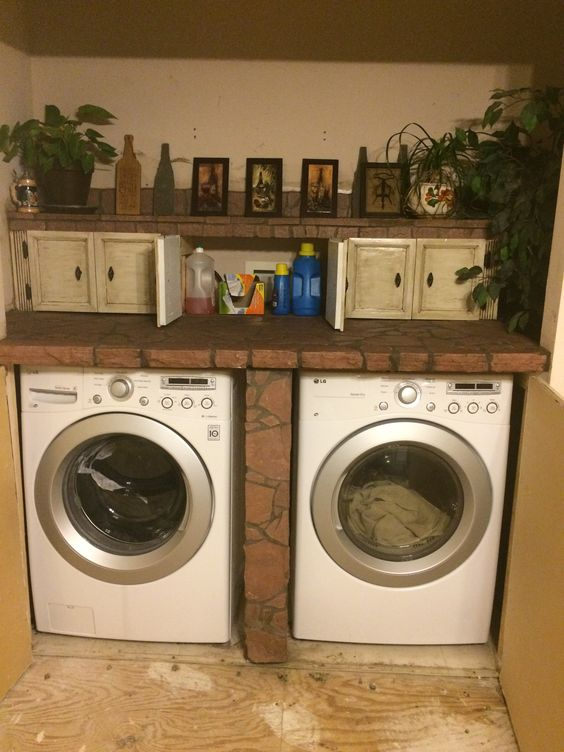 Laundry bar that my husband made