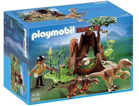 Jeu de construction PLAYMOBIL (2013)  5233 - Deinonychus et Vélociraptors