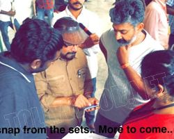 First Snap from Baahubali set