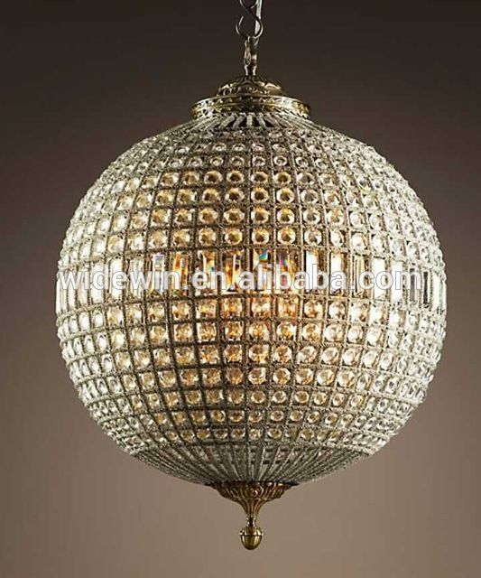 Source Luxury Crystal Crystal Ball Chandelier Hotel Living Room Led Lamps On M Alibaba Com Restoration Hardware Chandelier Crystal Chandelier Globe Chandelier