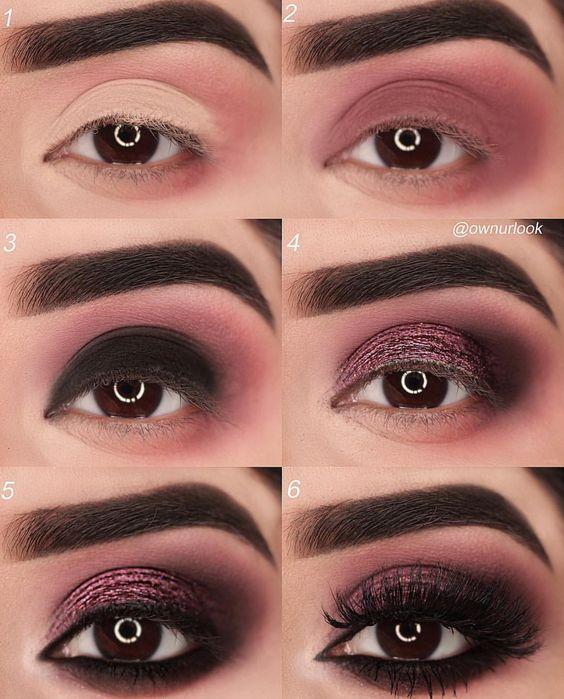 Maquiagem preta: Dobre as asas