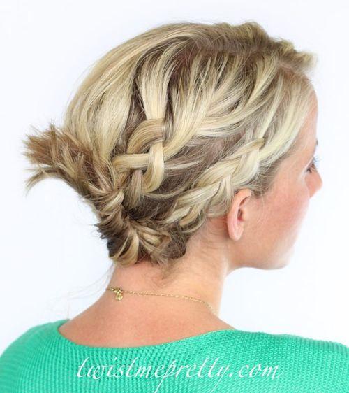 Kreative Französisch Braid Frisuren 2015 für Frauen