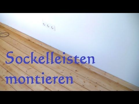 Pin Von Walter Mattischek Auf Heimwerken Fussleisten Sockelleisten Fussleisten Anbringen
