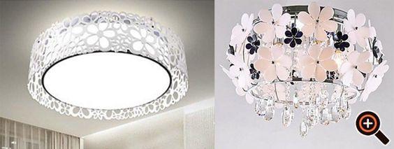 Deckenleuchten LED – moderne Wohnzimmer, Schlafzimmer, Küche, Flur & Bad