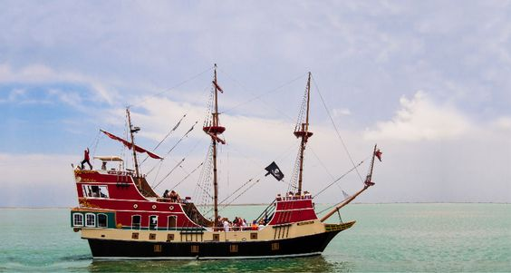Red dragon pirate cruise port aransas texas travel - Private deep sea fishing port aransas ...