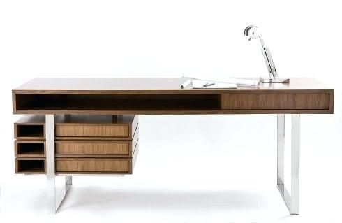 Modern Desk For Home Office Meja Kerja Mebel Meja Kantor