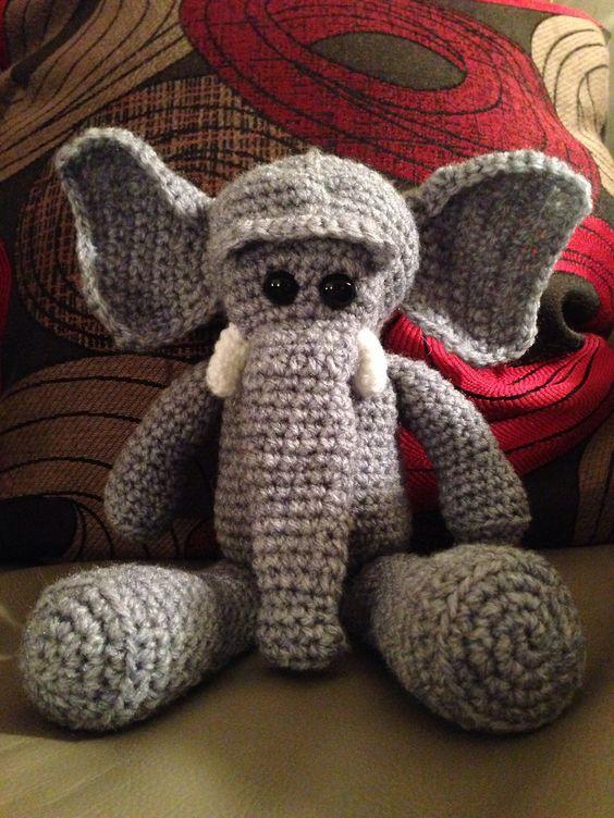 Ravelry: Lkm0's Morris & Matilda Amigurumi Elephants