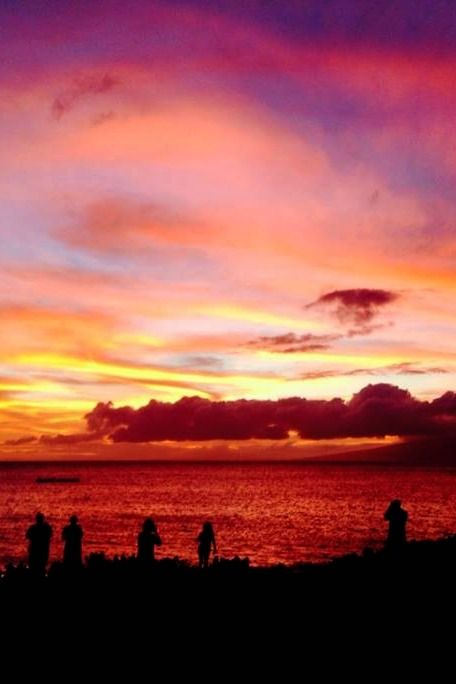 Just another Maui sunset!