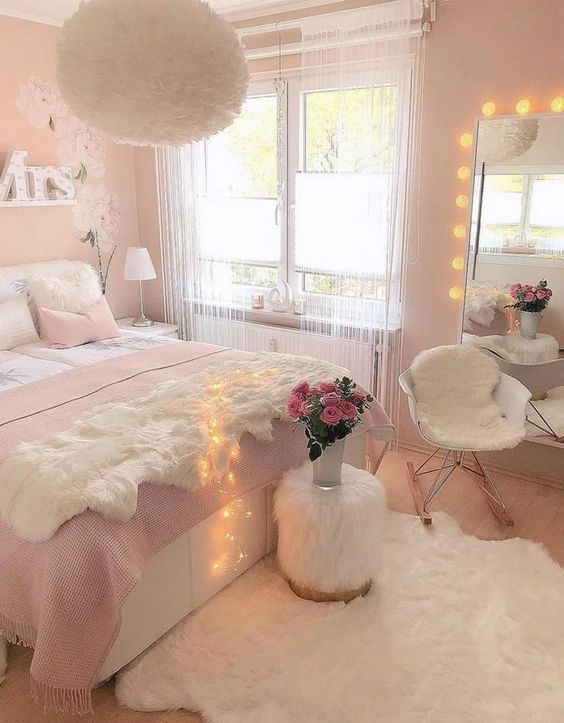 27 cutie pink bedroom decor ideas for teen girls 15 #bedroom #girlbedroom #bedroomdecorideas » ideas.hasinfo.net