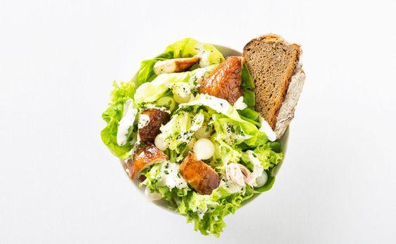 Caesar Salad auf norddeutsche Art – Effilee