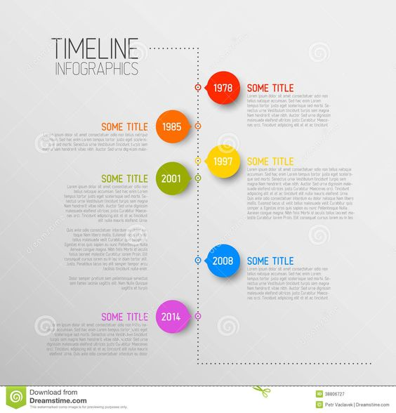 timeline infographic template - Google Search | • Design ...