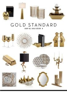 zgallerie gold home accents