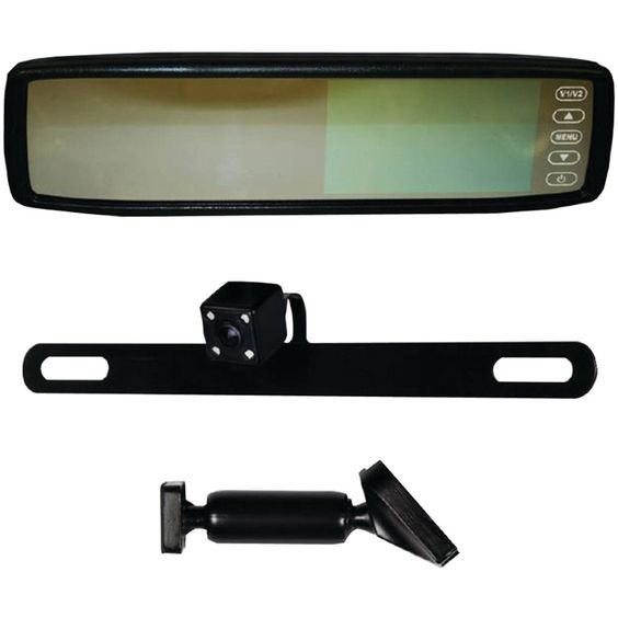 """Ibeam 4.3"""" Replacement Rearview Mirror With Ir Led Camera"""