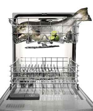 Have a feeling my fish hating husband mike kill me!: Bob Blumer S, Blumer S Dishwasher, Cooking Salmon, Dishwasher Bob, Cleaning Tips, Dishwasher Cooking, Salmon Recipes, Cooking Fish
