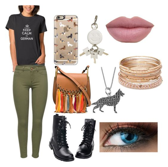 """""""German Girl"""" by the-anime-nerd on Polyvore featuring Casetify, Chloé, Alexander Wang, Jewel Exclusive and Red Camel"""