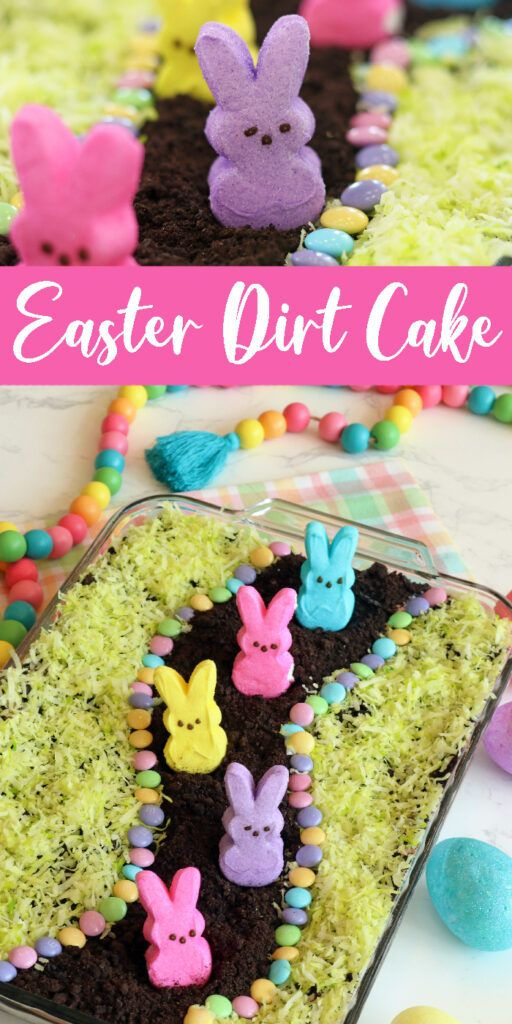 Easter Dirt Cake Is One Easy No Bake Easter Dessert That Is Layers