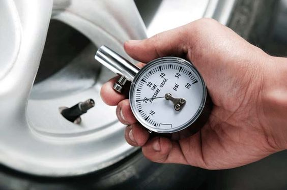 Check tire pressure monthly