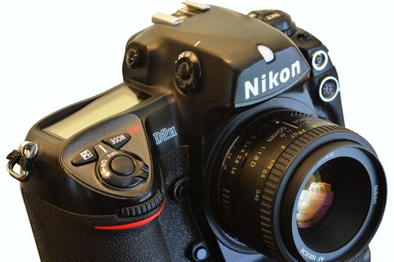Nikon D2h - the 'h' being for high speed, back when 8-frame/second speed was novel. Limited to 4mp and just a few shots before the buffer is full