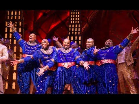 5 Year 5 Genie Medley Aladdin On Broadway Youtube Aladdin Broadway Aladdin Aladdin Musical