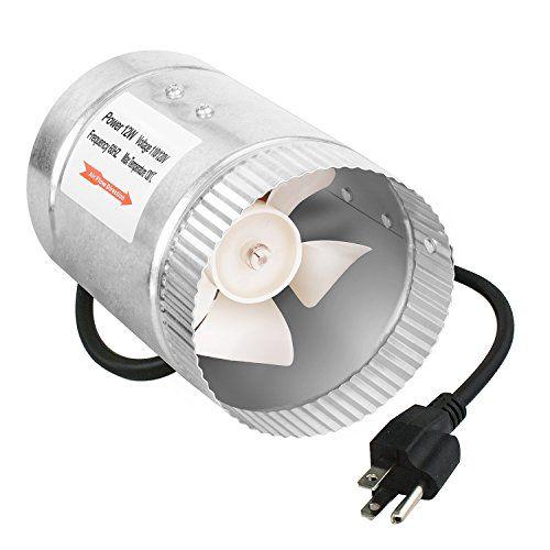 Ipower 4 Inch 100 Cfm Booster Fan Inline Duct Vent Blower Https Www Amazon Com Dp B00cqbfots Ref Cm Sw R Pi Dp U X Cm7hab731 Vent Blower Inline Fan Inline