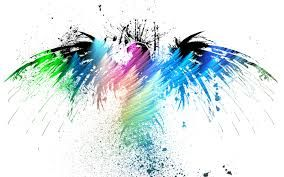 Image result for bird colorful water painting